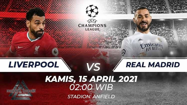 Prediksi Liverpool Vs Real Madrid