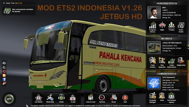 Download Mod ets2 indonesia v1.26 Terbaru