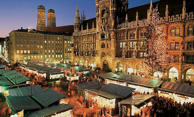 Feirinha de Natal na Marienplatz
