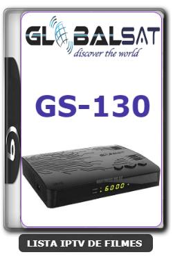 Globalsat GS130 Nova Atualização Melhoria no sistema e Correção do YouTube V1.34 - 20-01-2020
