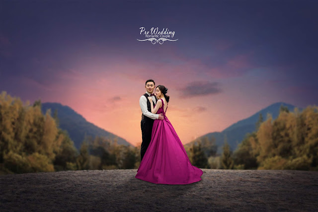 How to edit Pre Wedding Photo - Photoshop Tutorial