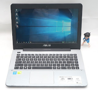 Laptop Spek Gaming Asus X455LF Bekas