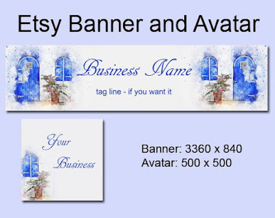 Banner Set, Profilbild und Shop Icon
