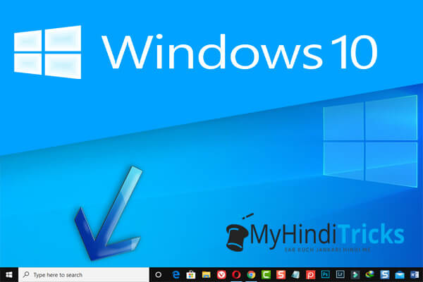 how to hide search box on windows 10