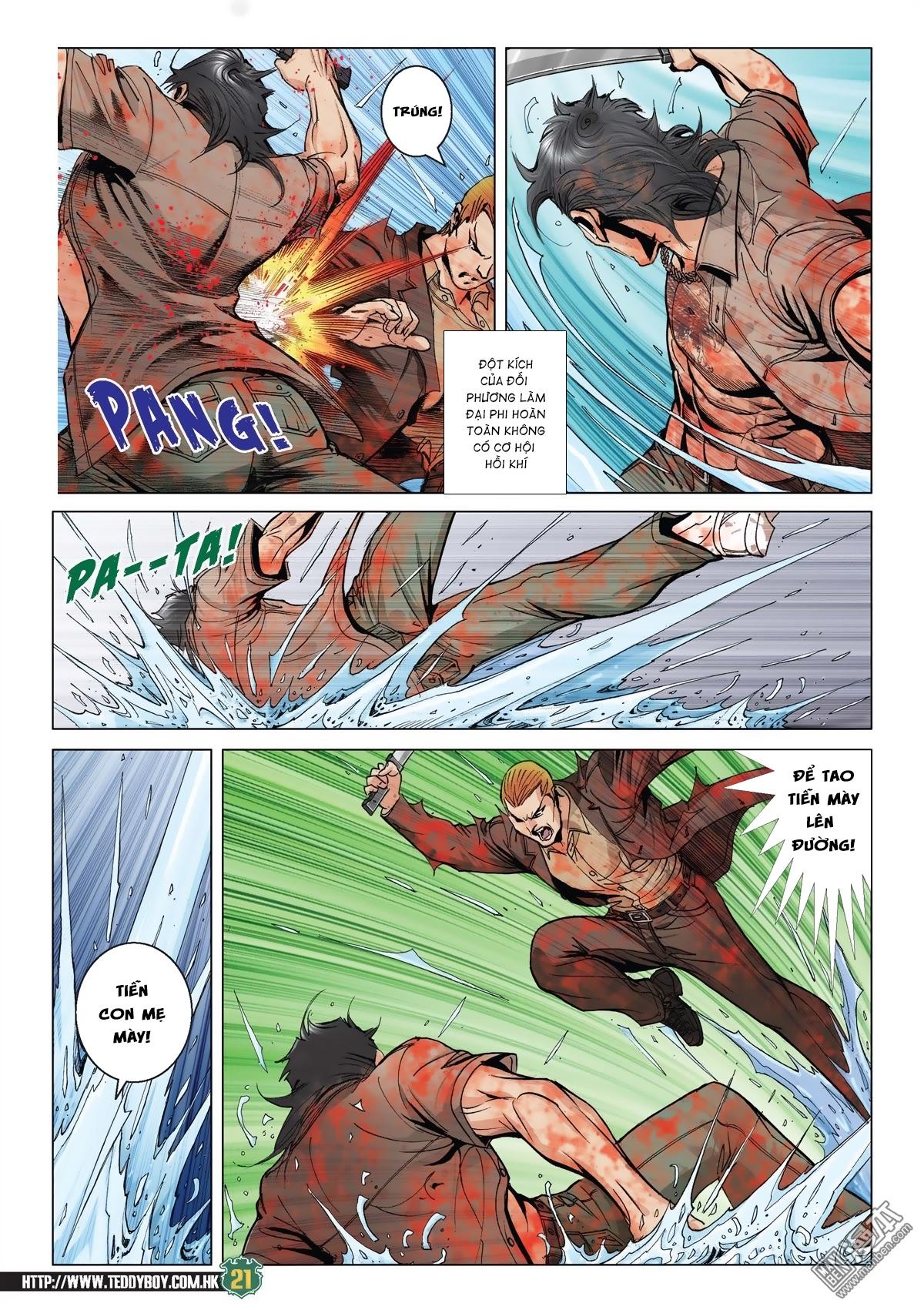 Người Trong Giang Hồ chapter 2033: kim tôn quý vs đại phi trang 18