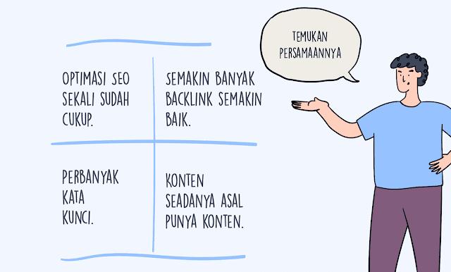 Metos Tehnik SEO Di Indonesia Yang Dapat Meruginakan Anda