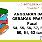 Anggaran Dasar (AD) Pramuka Terbaru Munas 2018 (isi Pasal 54, 55, 56, 57, 58, 59, 60, 61, 62, 63)