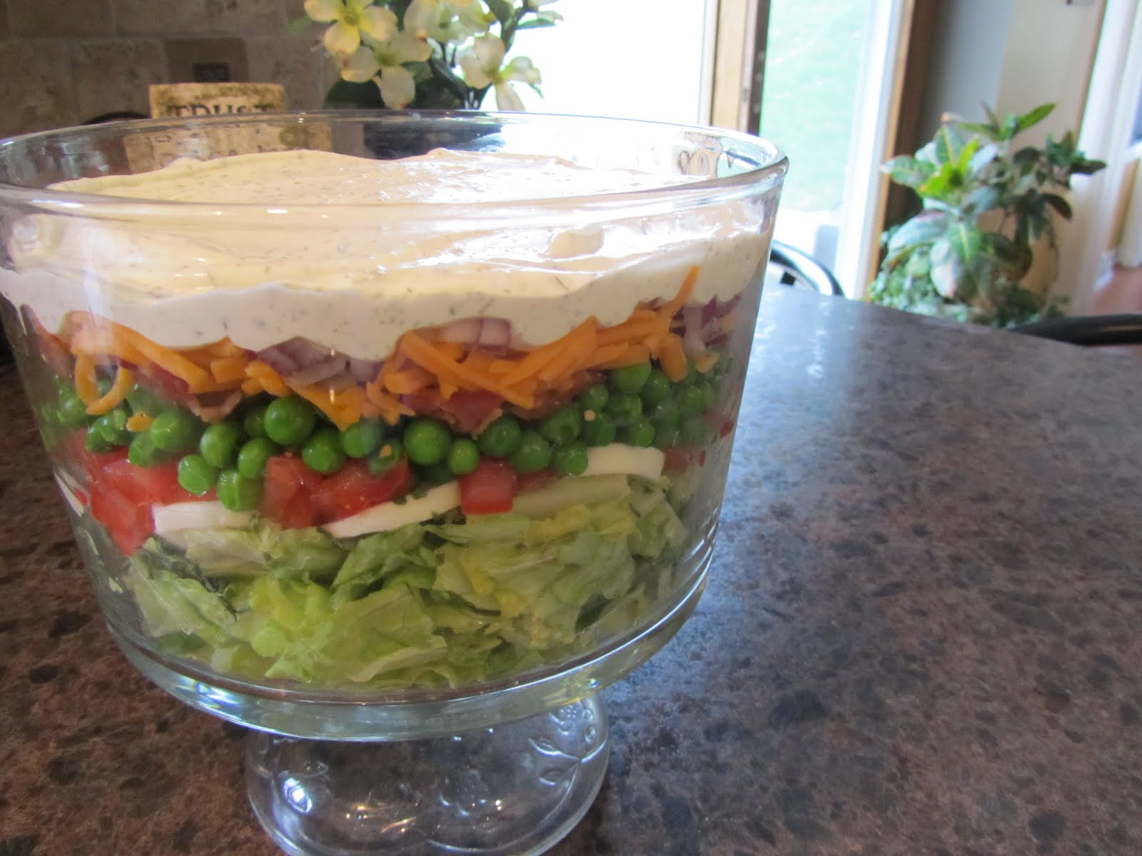 Pursuing Heart: Layered Lettuce Salad