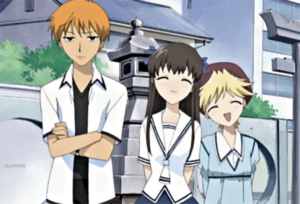 Rekomendasi anime romance comedy kedua - Fruits Basket