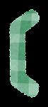 亀甲括弧のイラスト文字(左)