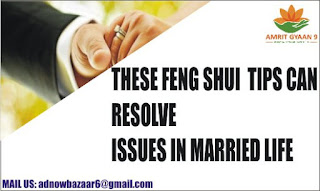 THESE FENG SHUI TIPS CAN RESOLVE ISSUES IN MARRIED LIFE