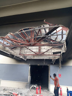 CKN NEWS Exclusive Pictures And Videos Of The Totally Burnt Down TVC And MAX FM Lagos