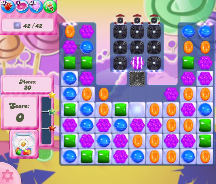 Candy Crush Saga level 2755