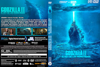 GODZILLA II: EL REY DE LOS MONSTRUOS – GODZILLA: KING OF THE MONSTER – 2019 [COVER – DVD]