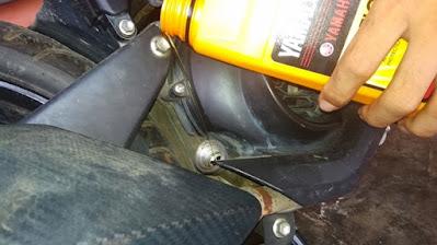 Langkah Mengganti Oli Motor Mio S