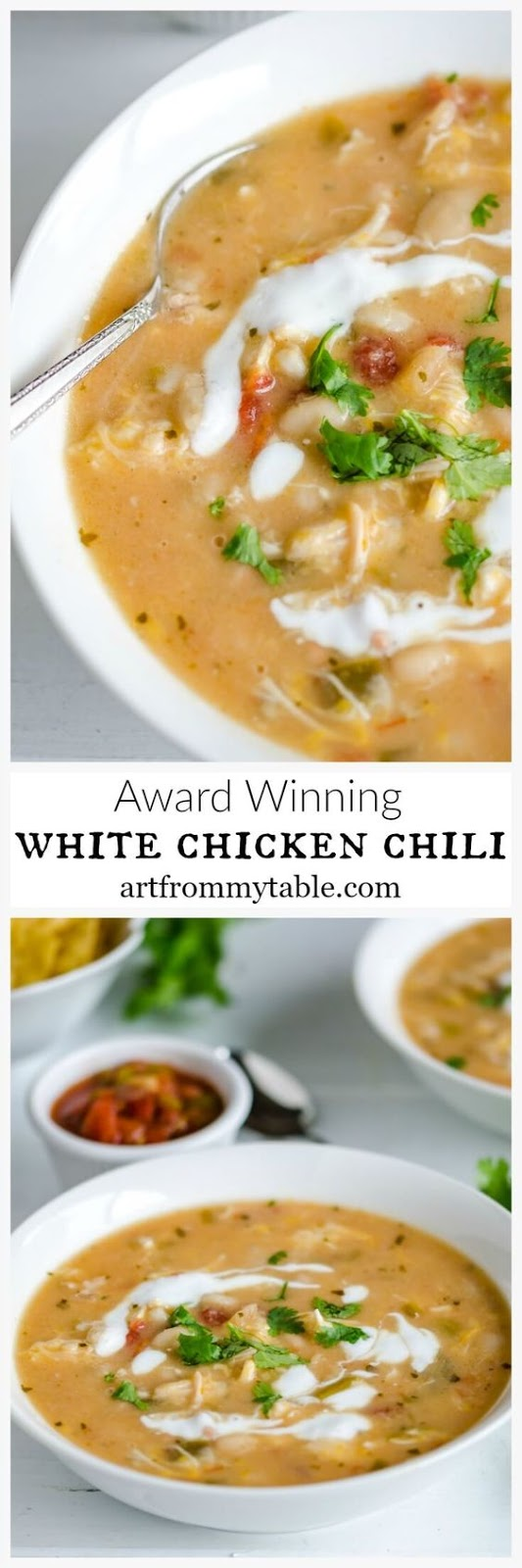 Easiest Ever White Chicken Chili