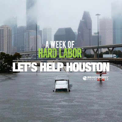 How to Help Houston, 5 Days of Hard Labor Online Test Group, American Red Cross Disaster Relief and Beachbody, Workout and Give Back, Beachbody on Demand Free Trial