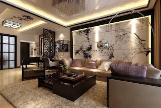 نمط التصميم الداخلي الآسيوي