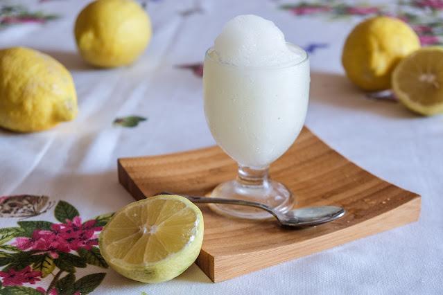 Ricetta della granita di limone siciliana