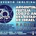 Argentina celebra los 70 años de Israel con una transmisión en directo en pantalla gigante