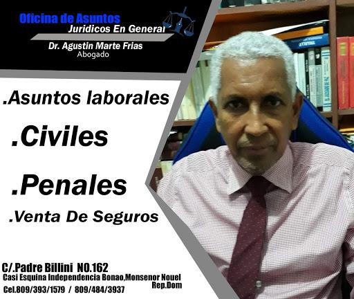 ASUNTOS JURIDICOS EN GENERAL