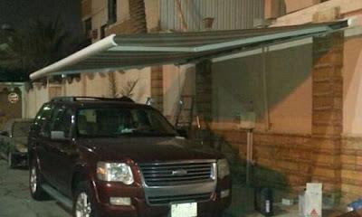 مظلات كهربائية للسيارات