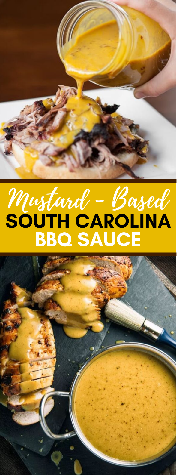 SOUTH CAROLINA-STYLE MUSTARD BARBECUE SAUCE #dinner #paleo