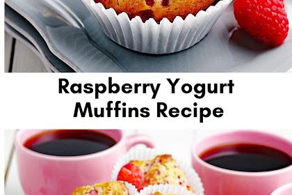 Raspberry Yogurt Muffins Recipe