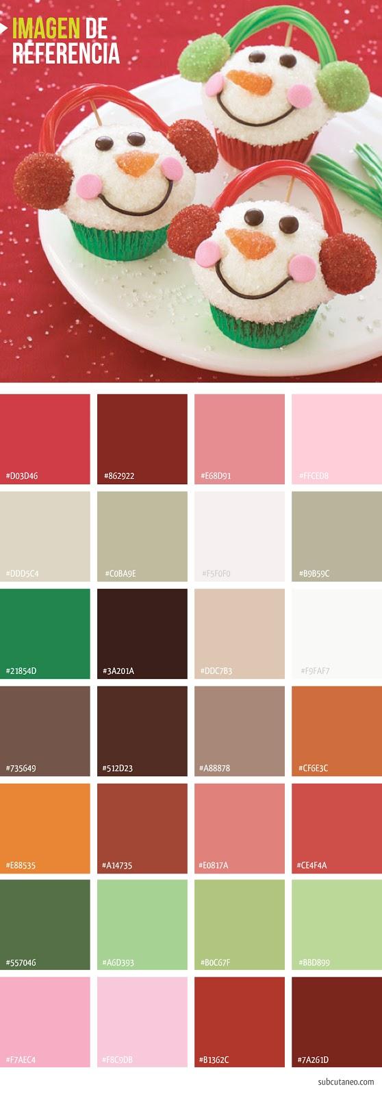 PALETAS//PALETTES: Colores inspiracionales para Navidad ...