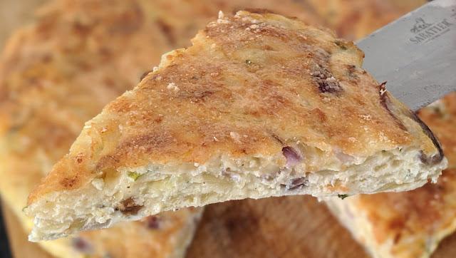 recette, tarte à l'oignon, aux oignons, tarte de, sans pâte, 5 minutes, cuisine facile, cuisine rapide, en video, étape par étape, un jour une recette