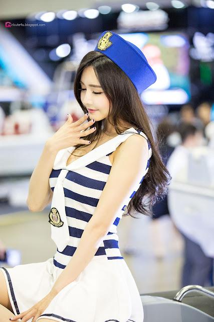 3 Han Ga Eun 2016 Korea International Boat Show - very cute asian girl-girlcute4u.blogspot.com