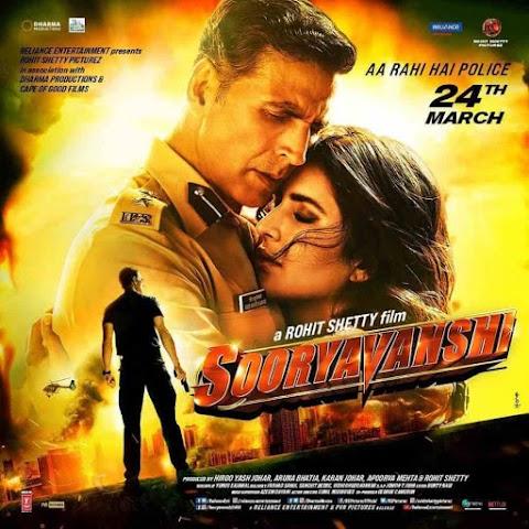 Sooryavanshi (2020) Full Movie Download 720p - 480p | Bolly4u Full Movie
