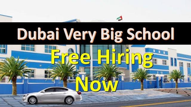 School Jobs In Dubai | Dubai School Jobs | Salary 8000AED |
