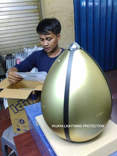 JASA Pasang Copper Rod Penangkal Petir Di BANDUNG Ciroyom