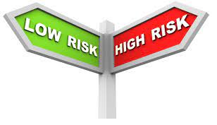 low risk and high risk