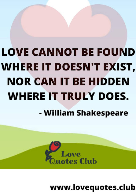 love quotes shakespeare