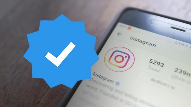 Cara Mendapatkan Akun Centang Biru Instagram