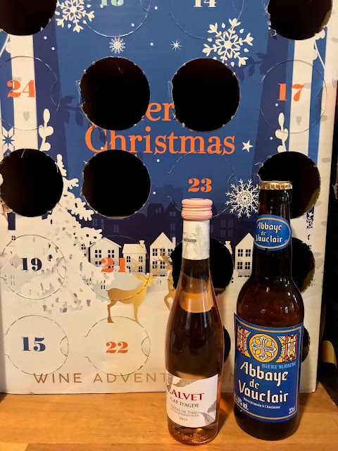 French Village Lockdown Diaries day 45, France Trivia Advent calendar day 13 rosé wines