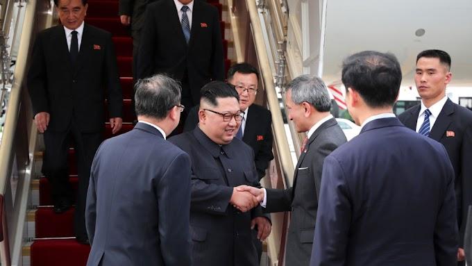 North Korea's Kim Jong Un arrives in Singapore — local media