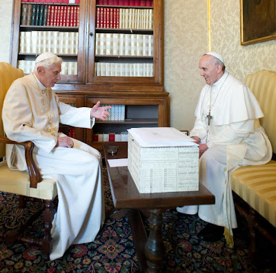 Francis and Benedict together at Castel Gandolfo