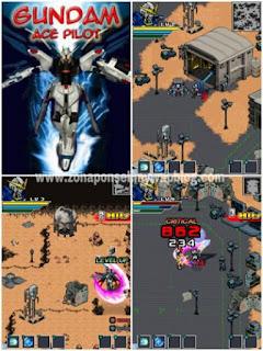 Gundam Ace Pilot game ponsel Java jar