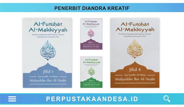 Daftar Judul Buku-Buku Penerbit Diandra Kreatif