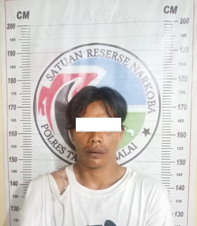 Sat Res Narkoba Polres Tanjung Balai Amankan Nelayan Pemilik Sabu