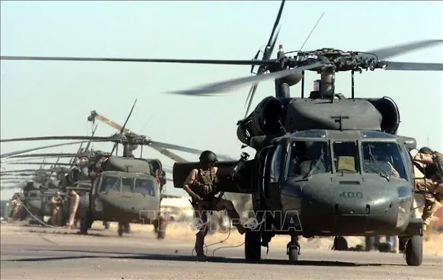 US soldiers at Balad Air Base, northern Iraq. File photo: AFP