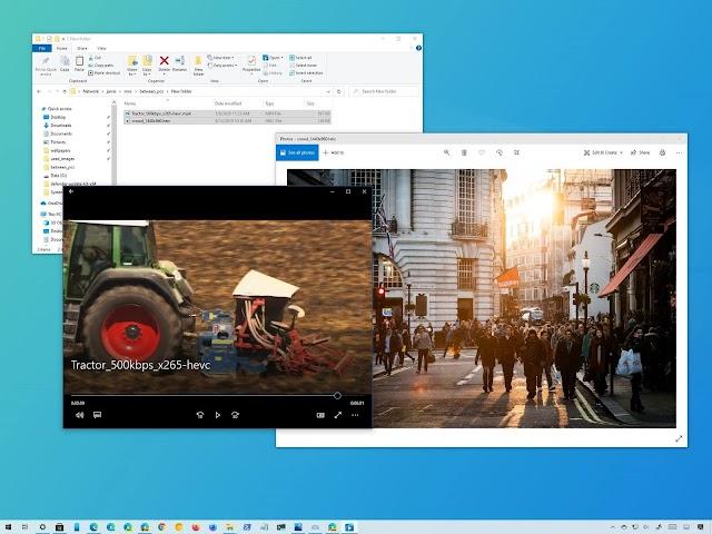 Cách mở file HEIC và HEVC bằng ứng dụng Photo trên Windows 10