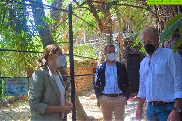 El Cabildo continúa apoyando la labor del Maroparque con una subvención de 10.000 euros en 2021