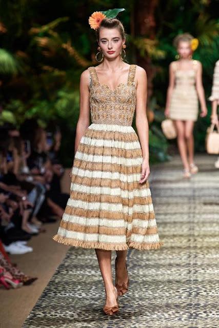 Модное платье весна-лето 2020 36
