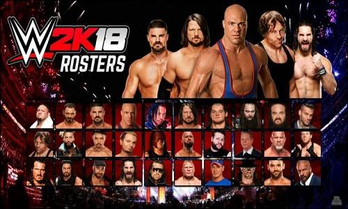 WWE 2K18 Game Download For Pc Highly Compressed