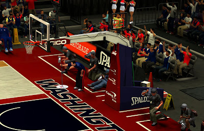 NBA 2K13 Washington Wizards HD Court Patch