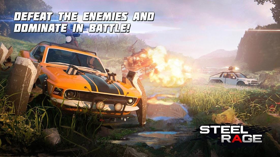 Steel Rage Mech Cars Pvp War Twisted Battle 2020 - Hileli APK